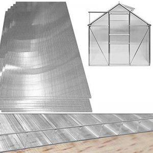 10,25 m² Plaque de polycarbonate creux / Plaques à double paroi, 4mm d'épaisseur de la marque Deuba image 0 produit