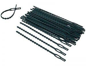 100x attaches de câble de jardin 17cm pour plantes, idéales pour jardiner de la marque G2PLUS image 0 produit