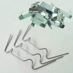 200Heswall Glass–Clips de fixation de panneaux de 100x W & 100x z Clip de la marque Heswall Glass image 0 produit