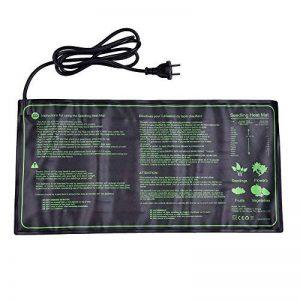 25x52.5cm Tapis Chauffant pour Semi Reptile Mat Electronique Tapis Chauffant Coussin Chauffant pour Jardin Reptile Incubateur (18W) de la marque Gorgebuy image 0 produit