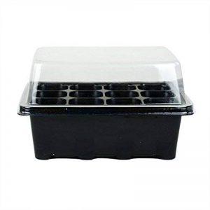 3jeux de plantes pour semis 12pots Nursery Boîte à plateaux avec dôme de la marque Gardeningwill image 0 produit