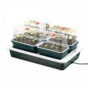 4 mini serre chauffante FAB4-38,5 x 24 x 17,5 cm - Garland germination-bouturage de la marque Garland image 0 produit