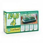 4 mini serre chauffante FAB4-38,5 x 24 x 17,5 cm - Garland germination-bouturage de la marque Garland image 1 produit