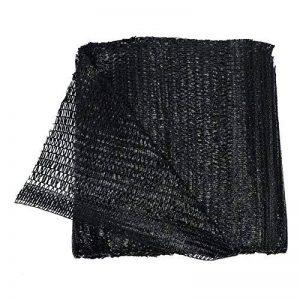40% Black Sun Abat-jour en filet solaire Abat-jour en tissu résistant aux UV Filet pour jardin Fleur Plante 2M x 5M noir de la marque Gardeningwill image 0 produit