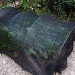 40% Black Sun Abat-jour en filet solaire Abat-jour en tissu résistant aux UV Filet pour jardin Fleur Plante 2M x 5M noir de la marque Gardeningwill image 1 produit