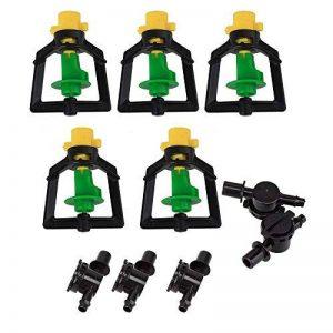 5pièces en plastique rotatif Micro embout Arroseur pour serre Humidificateur d'irrigation de la marque ZIJIA image 0 produit