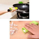 6 cuisine aide à outils - Éplucheur Rasoir Maïs Cutter - Ciseaux pour herbes à 5 lames - Eplucheurs Fruits Et Légumes - Epluche Ail en Silicone - Duplex Coupe-Oeufs - blanc d'oeuf jaune séparateur diviseur de la marque AoDi image 4 produit