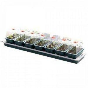 7 mini serres chauffantes Super 7-76 x 18,5 x 15 cm - Garland germination-bouturage de la marque Garland image 0 produit