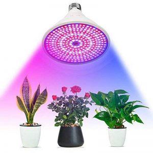 Amstt 290Plante LED Lumière Douille E27–8W Lampe de croissance horticole–Éclairage pour plantes de serre–Éclairage des plantes fleurs Lampe pour plantes d'intérieur, fleurs et légumes de la marque Amstt image 0 produit