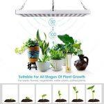Amzdeal 45w Lampe de Croissance pour plantes avec 225 leds, lampe horticole led pour culture intérieure de la marque Amzdeal image 2 produit