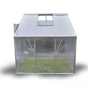 Anself 185 × 140 × 195 cm Serre de Jardin en Profilé d'Aluminium Tente pour Plantes Fleurs de la marque Anself image 0 produit