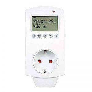 Anself Contrôleur de Température Electrique sans Fil Chauffage de Sol Thermostat Programmable Prise LCD Afficher la Chambre de Chauffe-eau de la marque Anself image 0 produit