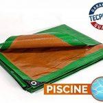 Bâche Piscine 250 g/m² - 2 x 3 m - Couverture Piscine - Baches Piscine - Bâches étanches - bache Imperméable - bache pour Serre de la marque Bâches Direct image 1 produit