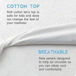Bedecor Protège Matelas Imperméable et Respirante de Blanc Flanelle(90x200-90x190 cm) de la marque Bedecor image 3 produit