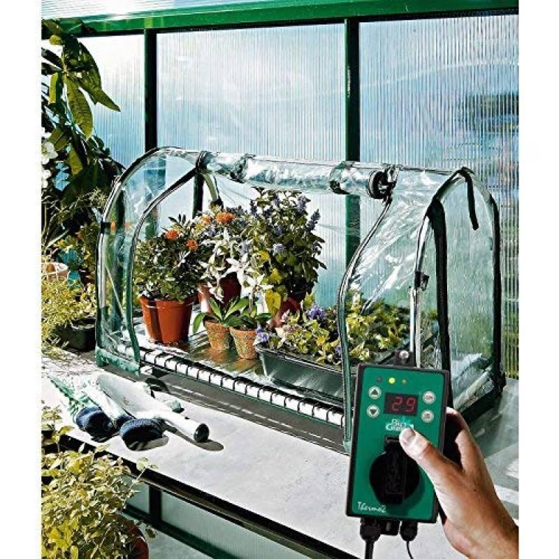 Mini serre de jardin chauffante => faire le bon choix pour ...