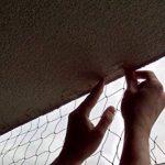 Bird-Tech Filet Balcon Noir pour Les Chats et Les Oiseaux, 5x5 M + 50 FastNet + 1 Tube Silicone 80ml … de la marque Bird-Tech image 4 produit
