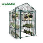 Cheerfulus Serre deJardin PE Plastique Tente Abri pour Tomates et Autres Plantes (Ne contient pas de cadre en fer) de la marque Cheerfulus image 1 produit