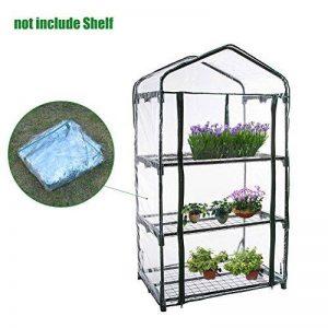 Chengstore Mini serre de jardin, maison de portable Jardin Vert pour extérieur et d'intérieur A de la marque Chengstore image 0 produit