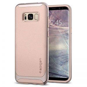Coque Galaxy S8 Plus, Spigen® [Neo Hybrid] PREMIUM BUMPER [Pale Dogwood] Bumper Style Premium Etui Slim Fit Dual Layer Protective Coque Samsung Galaxy S8+ (2017) - 571CS21653 de la marque Spigen image 0 produit
