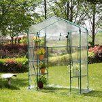 Couverture de serre Serre de jardin PE plastique tente abri Plante végétale en plastique PVC de la marque Yunhigh image 2 produit