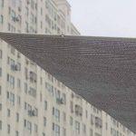 Écran solaire net ombre net d'isolation net aluminium feuille sécurité fenêtre soleil chambre balcon fenêtre supérieure seuil jardin extérieur ombre taux 75% (Couleur : Silver, taille : 1 * 1m) de la marque Shade cloth image 4 produit