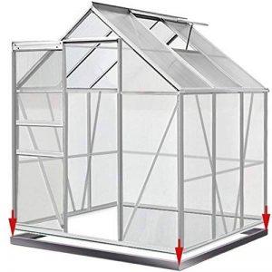 Deuba Serre de Jardin 5,85m³ - 1 Fenêtre et Fondation en Acier Plantation Jardinage de la marque Deuba image 0 produit