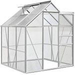 Deuba Serre de Jardin 5,85m³ - 1 Fenêtre et Fondation en Acier Plantation Jardinage de la marque Deuba image 2 produit