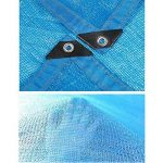 DUO Voiles d'ombrage 85% tissu d'ombre de Sunblock avec des oeillets pour le patio de jardin (Couleur : Blue, taille : 2x3m) de la marque Voiles d'ombrage image 2 produit