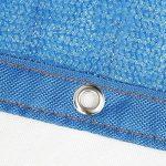DUO Voiles d'ombrage 85% tissu d'ombre de Sunblock avec des oeillets pour le patio de jardin (Couleur : Blue, taille : 2x3m) de la marque Voiles d'ombrage image 4 produit