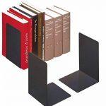 Durable 324401 Paire de Serre - Livres Grand Modèle Forme en L - Dimensions ((L x H x P)) 160 x 220 x 160 mm - en Acier Epoxy Coloris Noir de la marque Durable image 1 produit