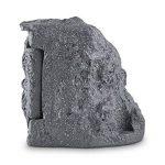 Duramaxx Timer Rock - Multiprise de jardin imitation pierre avec 2 prises, minuteur et 10m de cable (étanche, clapet aimanté avec passage à câbles) - gris foncé de la marque Duramaxx image 4 produit