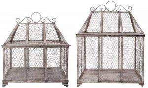 Eisernere serre lot de 2 chaises de jardin style antique de la marque Esschert Design image 0 produit