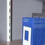 Element System 10803-00000 Serre-livre en métal Blanc 120 x 130 mm Blanc 4 pièces de la marque Element System image 3 produit
