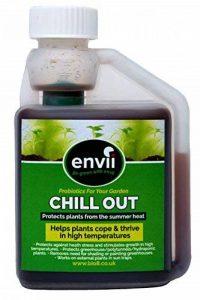 Envii Chill Out - Fertilisant Biostimulant Unique Qui Aide Les Plantes à Grandir Durant Les Fortes Températures - 250ml de la marque Envii image 0 produit