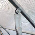 Etagère suspendue avec 4 bacs de culture pour serre tunnel de jardin de la marque France Serres image 4 produit