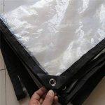 FEI Bâches Bâche transparente - Qualité supérieure pour plus de solidité - Protection anti-UV pour le camping en plein air Camions et remorques 70g / m² - 0.12mm couverture professionnelle  bâche de la marque Pengbu image 3 produit