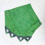 Filet Résistant UV De Tissu D'ombre De Sunblock Vert pour Le Panneau De Filet D'ombre pour La Serre Végétale, Bâche Résistante De Maille,3M*6M de la marque Rziioo image 2 produit