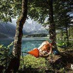 Flying Tent Hamac étanche avec moustiquaire, pour 1personne, tente suspendue, colonne d'eau de 5000mm, avec sac de transport, pour la randonnée, les festivals, les voyages, 3saisons de la marque image 4 produit