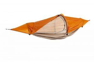 Flying Tent Hamac étanche avec moustiquaire, pour 1personne, tente suspendue, colonne d'eau de 5000mm, avec sac de transport, pour la randonnée, les festivals, les voyages, 3saisons de la marque image 0 produit