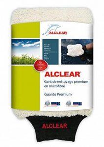 Gant en microfibre ALCLEAR 950013WH pour le lavage de voiture avec shampooing : mieux qu'une éponge de lavage de voiture, une toile de polissage ou un chiffon en microfibre ; pour la voiture, la moto. de la marque ALCLEAR image 0 produit