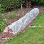 Garden Mile 1.5m M Polytunnel CLOCHE MINI Jardin Serre semence Propagateur Plante Bâche protection antigel 1.5m m x 45cm x 45cm de la marque garden mile image 3 produit