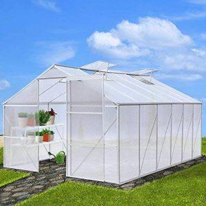 Garten Gewächshaus ca. 10 qm (ca. 15,08 m³) de la marque Jago image 0 produit