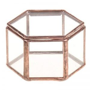 Gazechimp Maison Serre en Verre Vase Contenant Hexagonale pour Miniature Plante Succulente Fleur de la marque Gazechimp image 0 produit