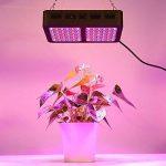 Glighone Lampe de Croissance Led Floraison Horticole Eclairage Culture Panneau Carré Clip 600W Végétation Lumière Grow Light Réglable Intérieure pour Serre Jardin Plantes Fleurs Légumes Bleu Rouge de la marque Glighone image 3 produit