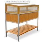 Habau Lit surélevé avec cadre en aluminium–Jaune de la marque HABAU image 2 produit