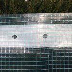 Haga® Film grillagé en 2m Largeur pour serre tunnel Film de Construction (au mètre) de la marque HaGa® image 1 produit