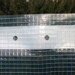 Haga® Film grillagé en 4m Largeur pour serre tunnel Film de Construction (au mètre) de la marque HaGa® image 1 produit