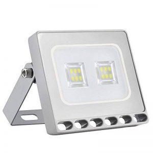 Himajie - Projecteur LED, puissance 10W, 20W, 30W, 50W, 100W, 150W, 200W, 300W ou 500W, adapté à une utilisation en extérieur, étanche IP65, éclairage de sécurité, design ultra-fin et ultra-léger - Classe d'efficacité énergétique A+ 10W blanc froid de la image 0 produit