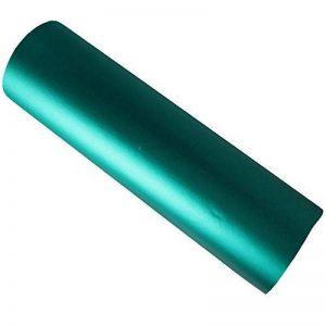 Hoho extensible en chrome satiné mat Vert foncé en vinyle de voiture film 152,4x 50,8cm de la marque HOHO image 0 produit