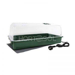 HORTOSOL 30w XXL grande mini serre de bouturage chauffante électrique 56x32x21 cm de la marque HORTOSOL image 0 produit